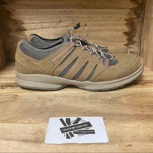 Dr scholls advanced comfort beige gray sneakers